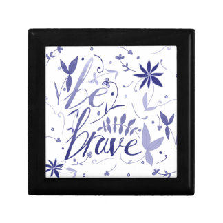 Be Brave Blue Gift Box