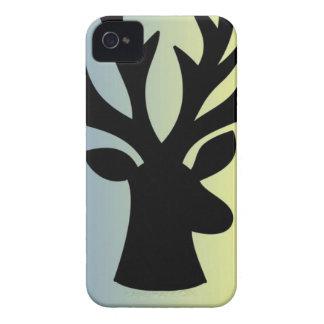 Be brave deer head shadow iPhone 4 Case-Mate case
