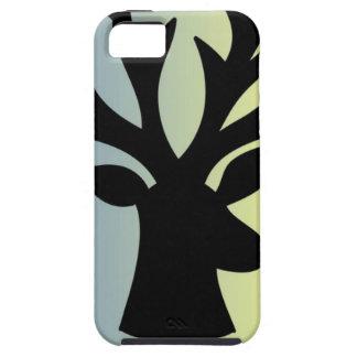 Be brave deer head shadow iPhone 5 case