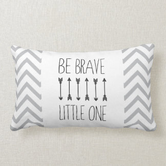 Be Brave Little One - Tribal Nursery Throw Pillow