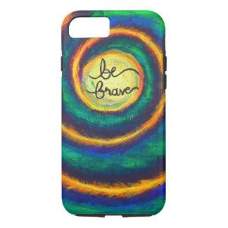 Be Brave Spiral Artwork iPhone 7 Tough Case