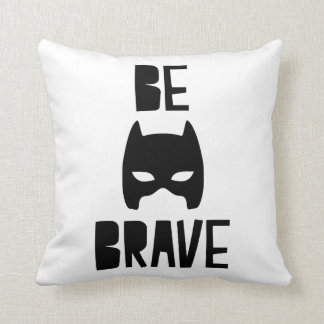 Be Brave Superhero Pillow