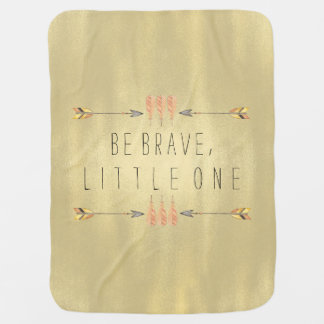 Be Brave Tribal Arrow Baby Baby Blanket