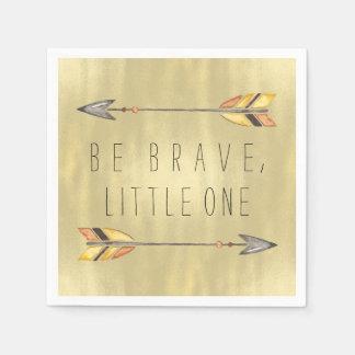 Be Brave Tribal Baby Shower Paper Napkins