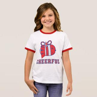BE CHEERFUL :) RINGER T-Shirt