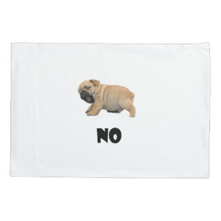 Be Clear Pup Pillow Pillowcase