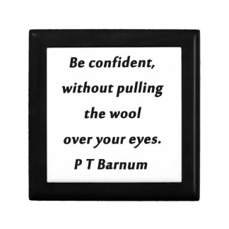 Be Confident - P T Barnum Gift Box