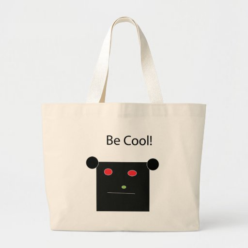 Be Cool Tote Bags