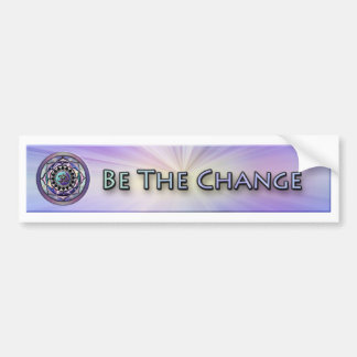 Be Cool. Be the Change Bumper Sticker