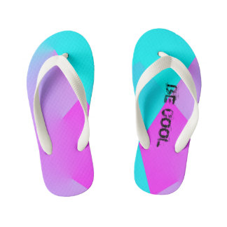 BE COOL designed by Sophia Kid's Flip Flops