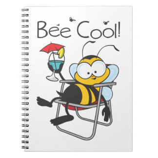 Be Cool Spiral Note Books