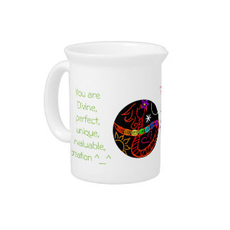 Be Cosmic Love Pitcher
