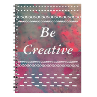 Be Creative Paint Notebook