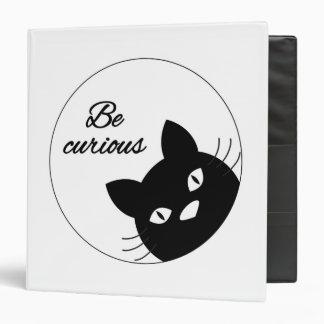 Be Curious Vinyl Binders