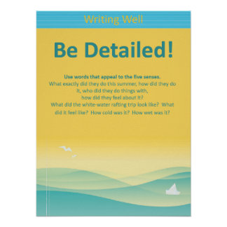 Be Detailed! Poster