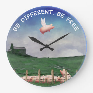 Be Differen't, Be Free Clocks