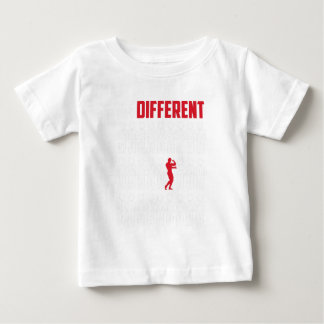 Be-Different Fitness Gym Lifting Fan Gift Baby T-Shirt