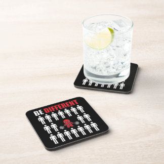 Be Different - Kawaii Anime Bodybuilding Workout Coaster