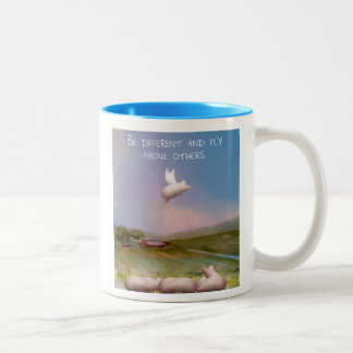be different Two-Tone coffee mug