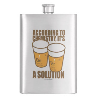 BE-ER HIP FLASK
