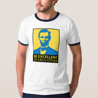 Be Excellent (yellow/blue) Tee Shirt