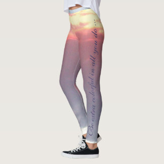 Be Extra Colorful In All That You Do Leggings