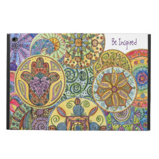 Be Fearless, Hamsa Mandala iPad Air2 Cover