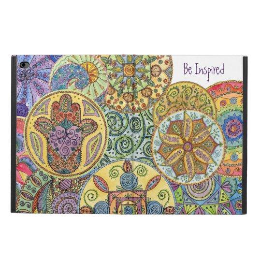Be Fearless, Hamsa Mandala iPad Air2 Cover