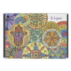 Be Fearless, Hamsa Mandala iPad Mini Cover