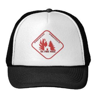 Be Fire Wise BallCap Trucker Hat