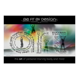 Be Fit By Design Poster