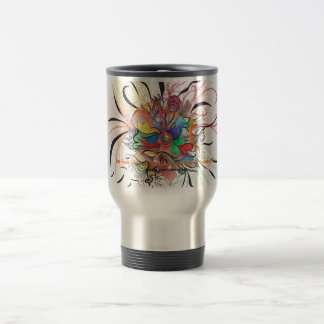 Be free be natural be amazed of yourself travel mug
