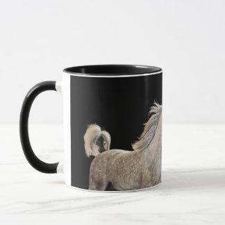 be free. horse collection. arabian grey mug