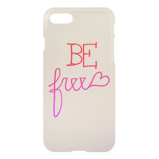 Be Free iPhone 7 Case