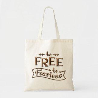 Be Free Totebag Tote Bag