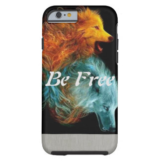 Be Free Wolf Tough iPhone 6 Case