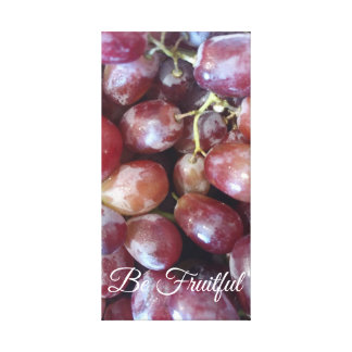 Be Fruitful Canvas Print