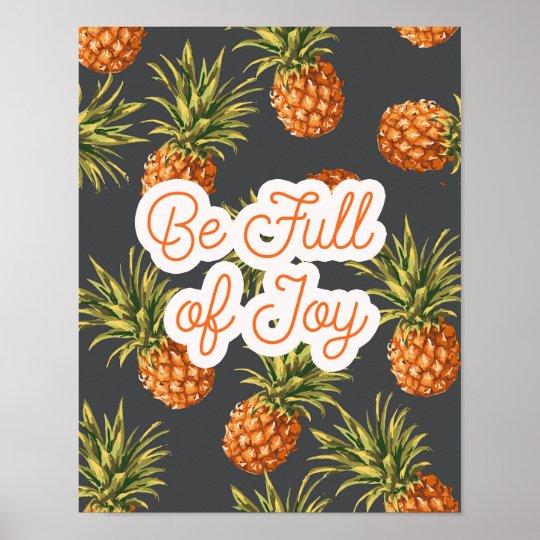 Be Full of Joy Poster