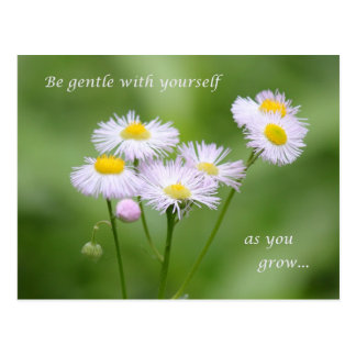 Be gentle with yourself postcard