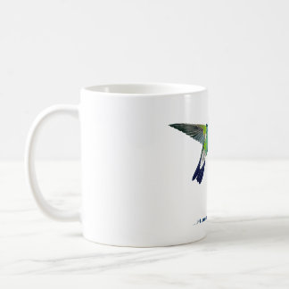 """Be Glad… Hummingbirds Don't Have Teeth""  mug"