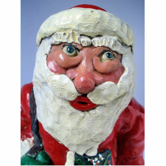 Be Good! Santa is Watching at You! Photo Sculptures