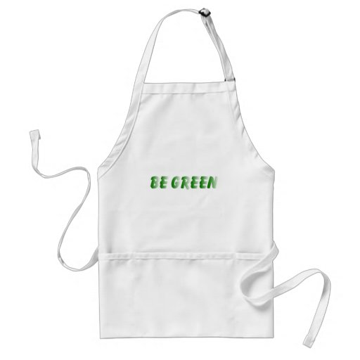 BE GREEN APRONS