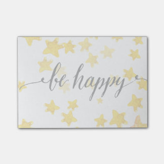 Be Happy 3 Post-it Notes