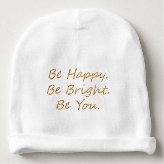 Be Happy Baby Beanie