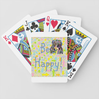 Be Happy Bicycle Playing Cards
