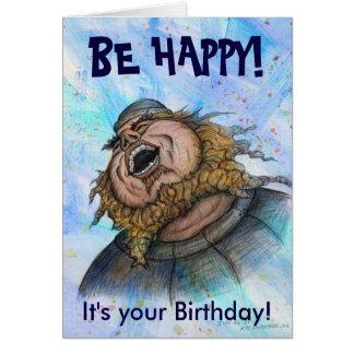 Be Happy! Birthday Card