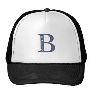 Be Happy (blue good) Trucker Hat