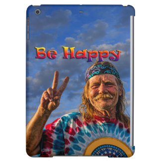 BE HAPPY COVER FOR iPad AIR