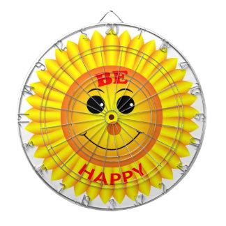 Be Happy Dartboard