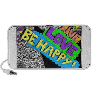 Be Happy Doodle Speaker